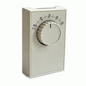 Columbus Electric Etd5ss Line Voltage Thermostat Heat Or Cool By