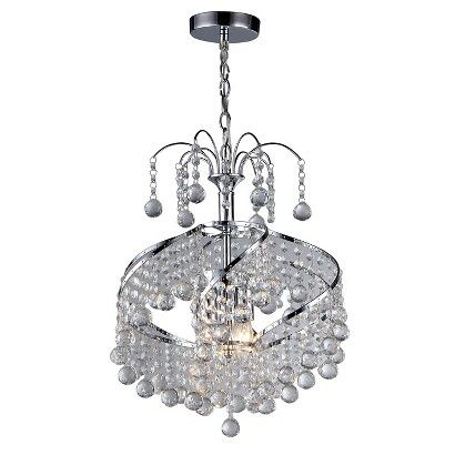 Warehouse Of Tiffany Ceiling Lights - Silver (16 X 16 X 12