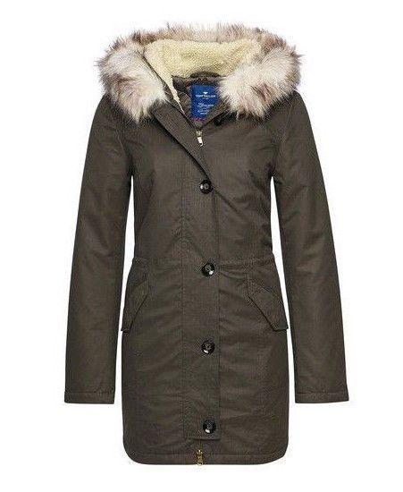 Details zu Damen Frühlings Mantel, Tom Tailor, Gr. L, Blau