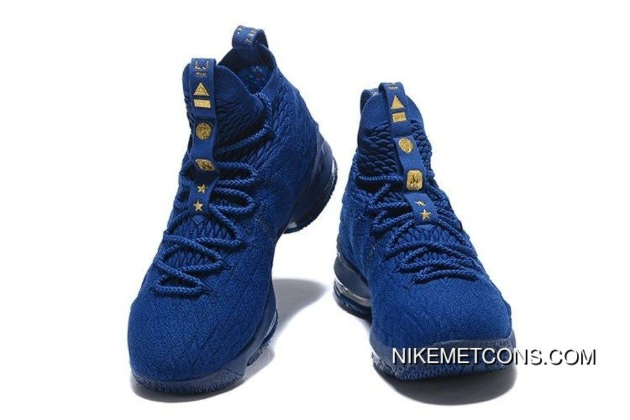 720a30ffd00 LeBron James Nike LeBron 15 Mens Basketball Shoes Black Gold NBA Finals  Game 4 Copuon