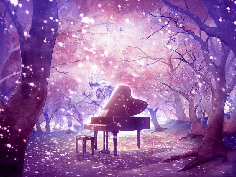 Anime Piano Wallpaper Beautiful Anime Scenery Anime Background Piano Anime