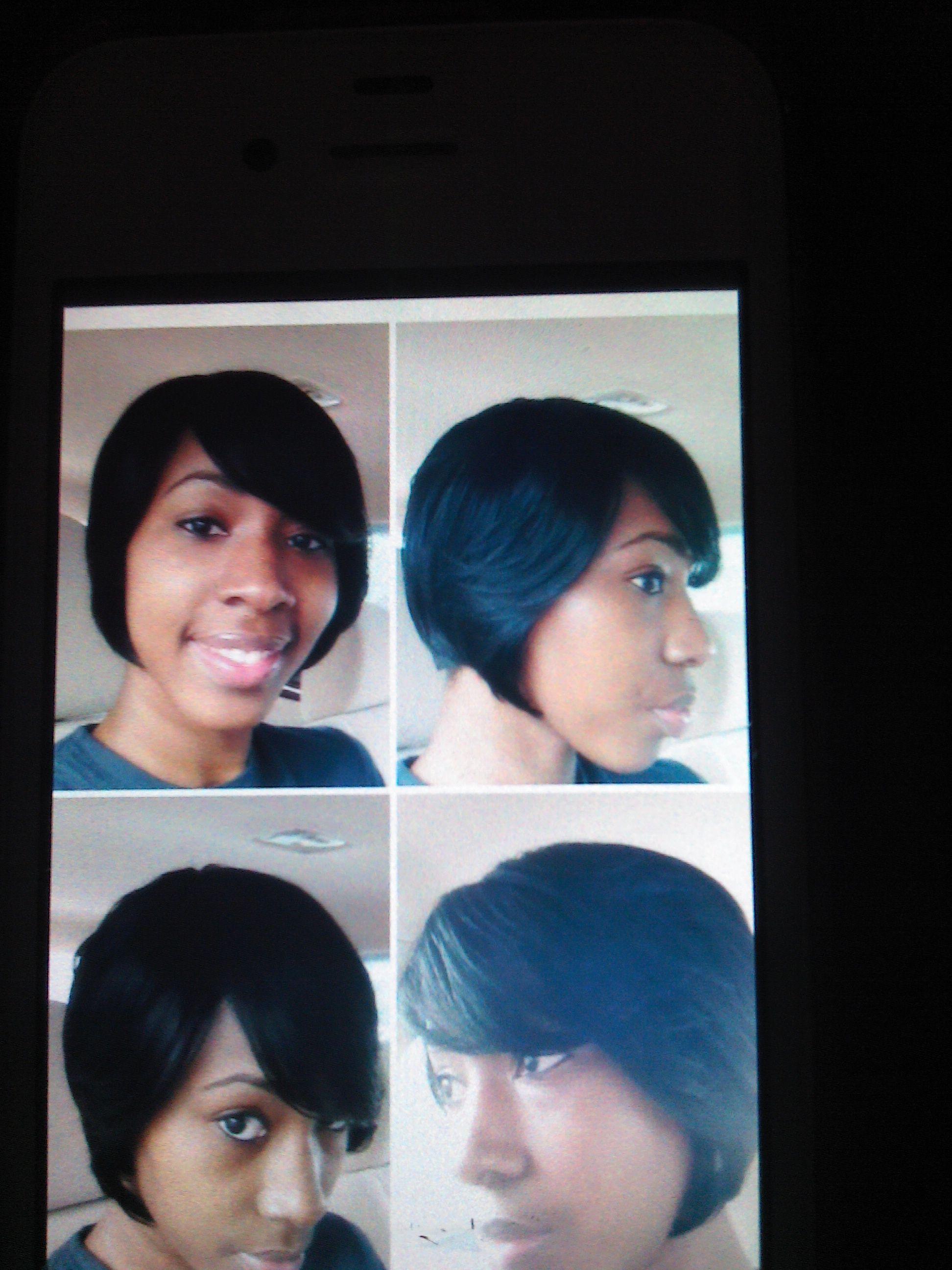 Sensationnel Human Hair Premium Now Bump Wig Vogue Crop ...
