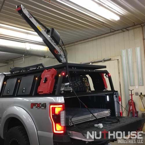 Nutzo Tech 2 Series Expedition Truck Bed Rack Vehicle