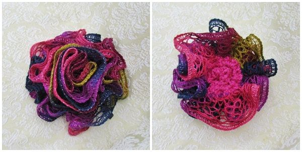 The Yarn Art Cafe: Red Heart Boutique Sashay Yarn Demo | Loom ...