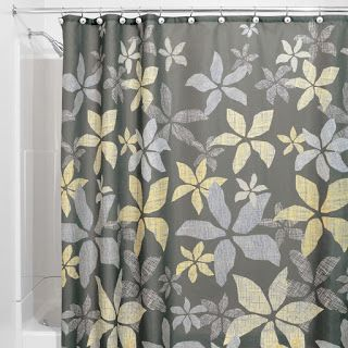 Chic & Affordable Yellow and Gray Shower Curtains | Best Gray ...