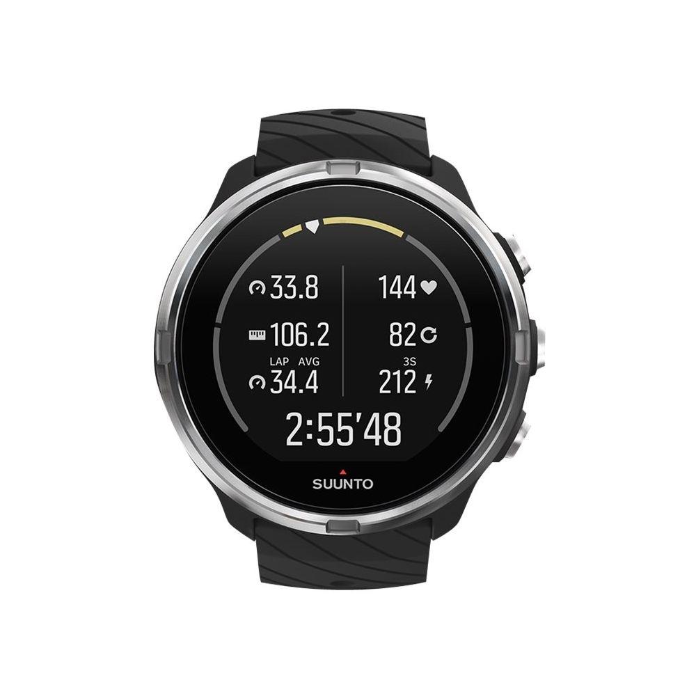 Suunto 9 GPS Heart Rate Monitor Watch Black Heart
