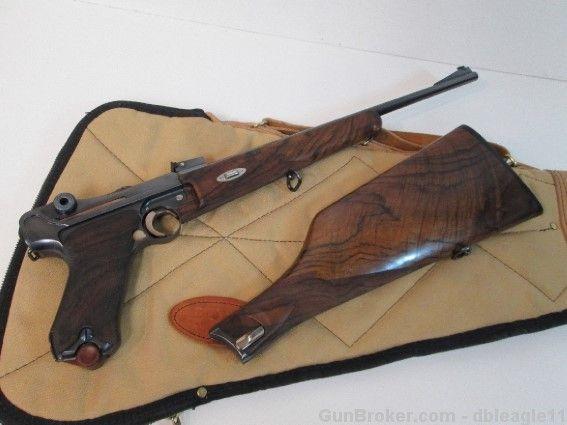 Martz Luger Carbine  22MAGNUM 1 of 2 Produced! : Semi Auto