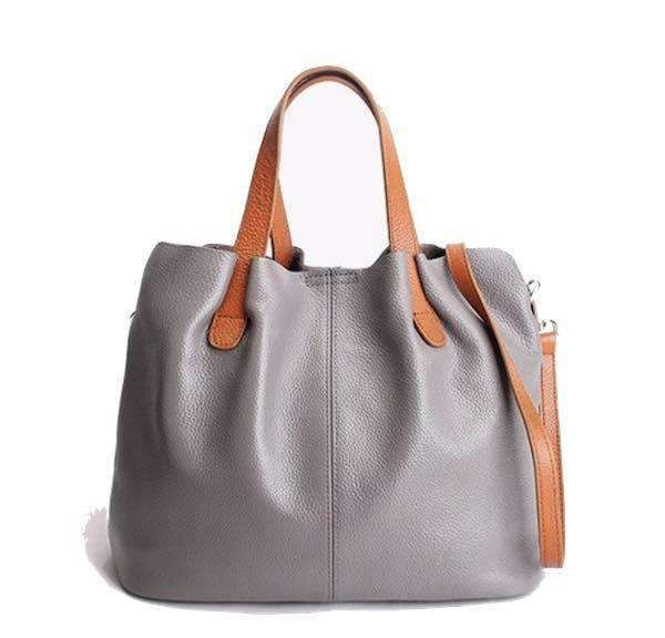 cde764e5509e Amor Soft Leather Tote-Bag-Borsetta Online  80