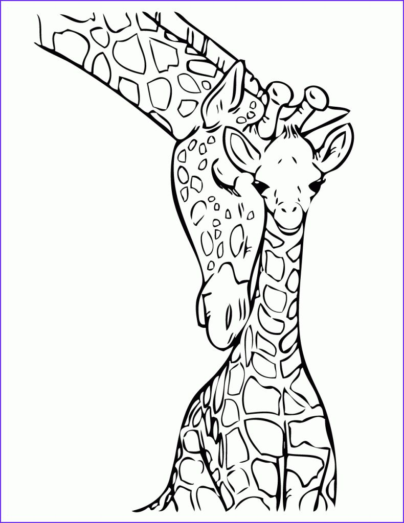 45 Best Of Stock Of Giraffe Coloring Book Kostenlose Ausmalbilder Malvorlagen Tiere Giraffenzeichnung