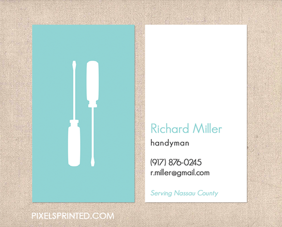 handyman business cards contractor business cards electrician business cards plumber business cards