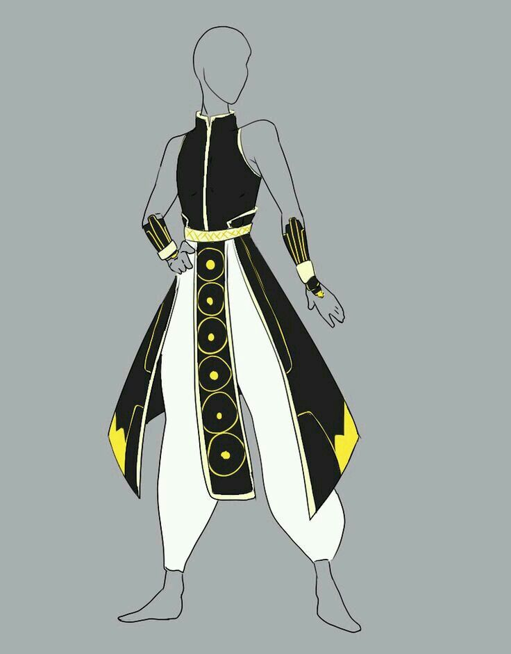 Male Outfit Fantasy Clothing Fantasy Costumes Anime Outfits