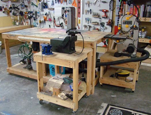 Exceptionnel Workshop Tables: Tutorial   Blogs   Halloween Forum Workshop Ideas, Garage  Workshop, Workshop