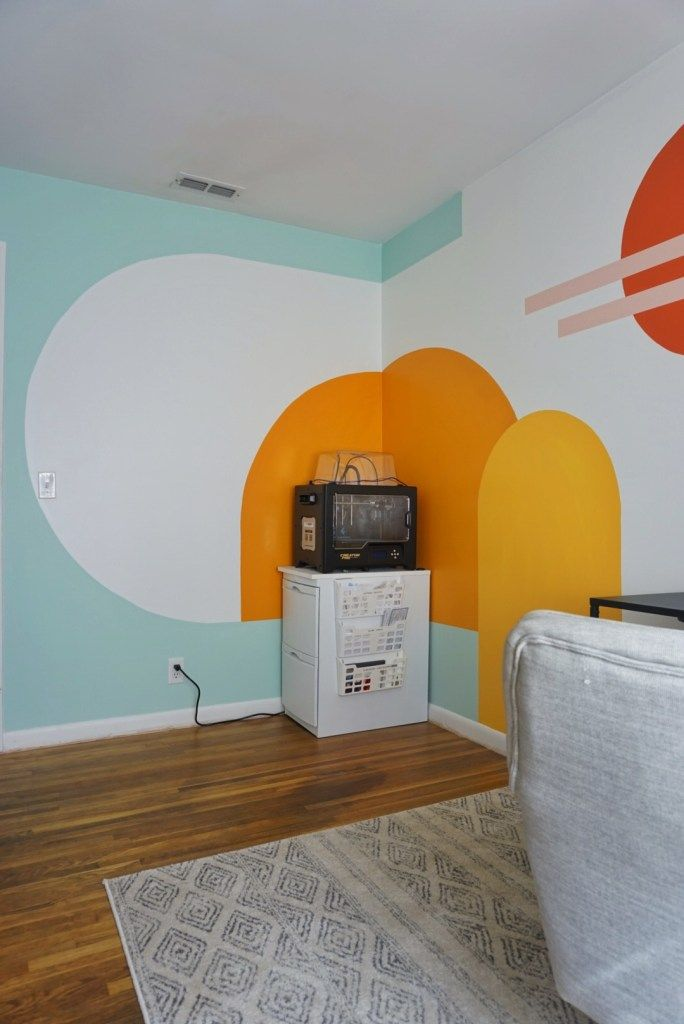My Office Mural: All of the Details *PHOTOS* – The Chia House