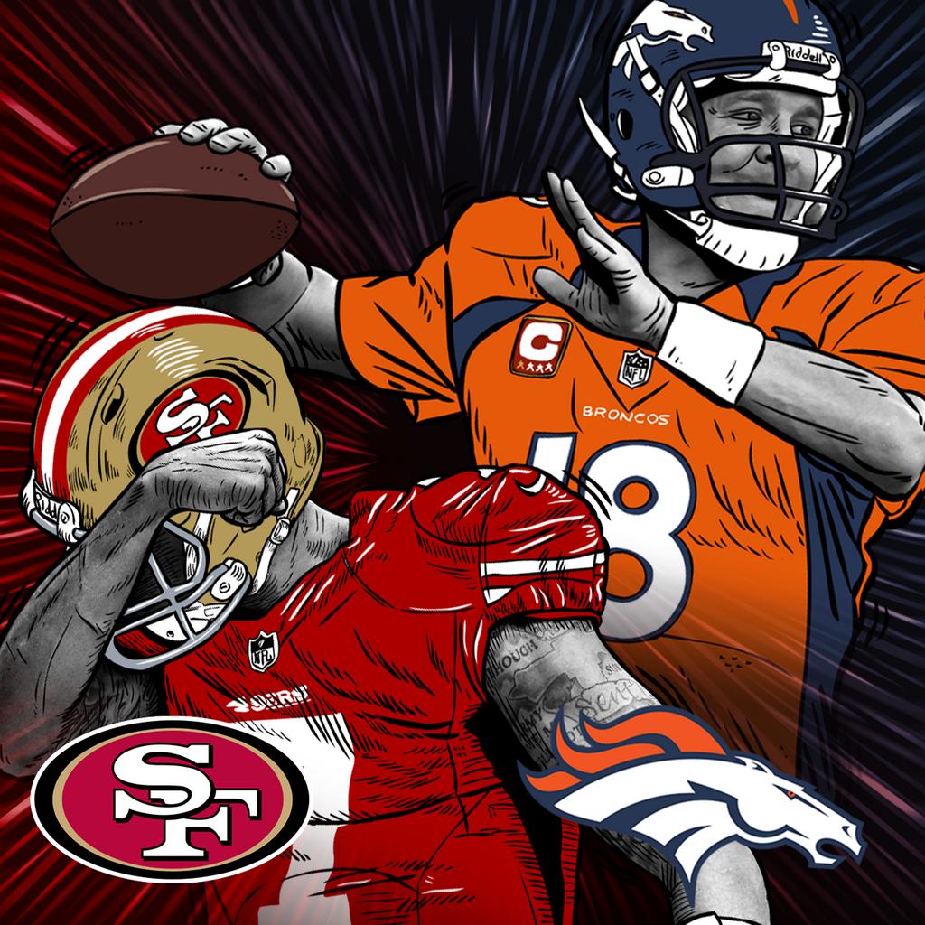 NFL on (With images) Broncos win, Denver broncos logo