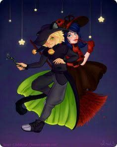 Witches And Black Cats~ (Miraculous Ladybug, Adrien, Marinette)