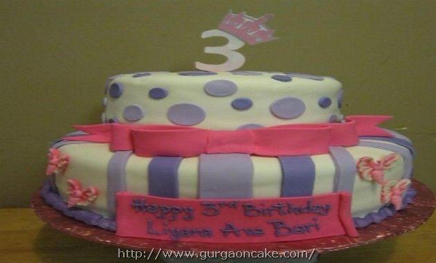 Little Girl 3Rd Birthday Cake Ideas Birthday Cake Pinterest