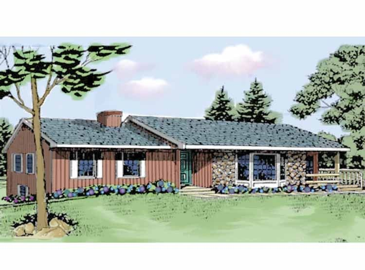Ranch Style House Plan 3 Beds 2 Baths 2036 Sq Ft Plan 314 257 Ranch Style House Plans House Plans Ranch House Plans