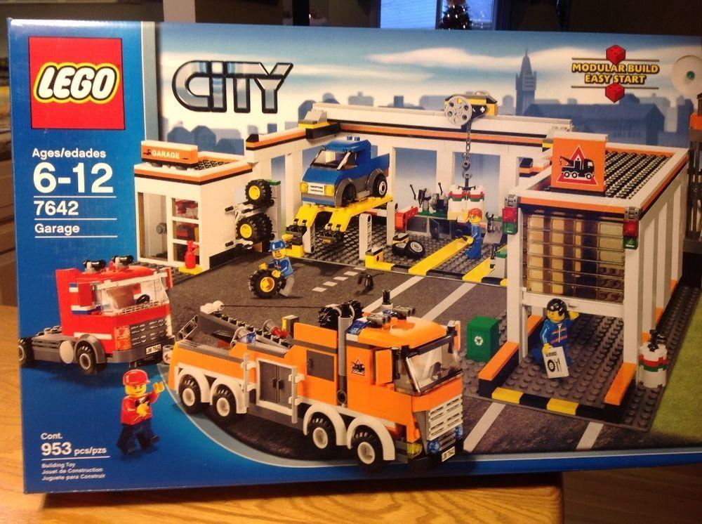 Lego City Garage : Lego city garage new retired lego lego