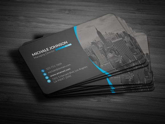 Pin On Business Card Template