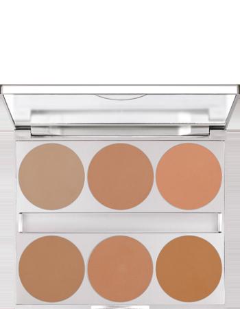 Dual Finish Palette 6 Farben | Kryolan - Professional Make-up