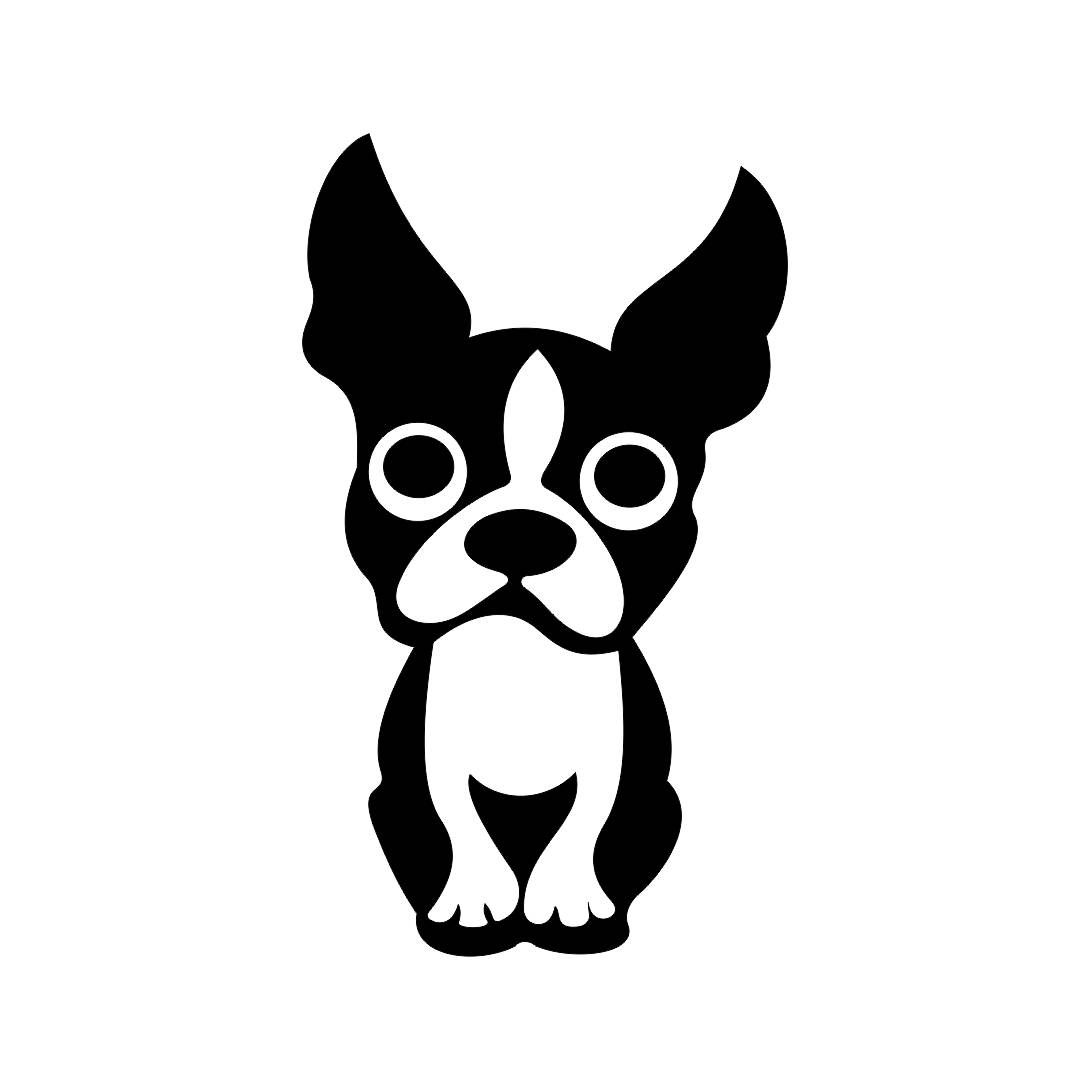 boston terrier cute dog graphics svg dxf eps png cdr ai pdf vector rh pinterest co uk boston terrier clipart for the 4th of july boston terrier silhouette clip art