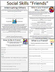 Empowered By THEM: Social Skills - Friends | Kids stuff ...