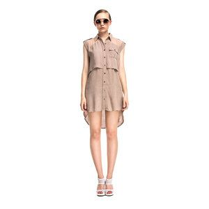 Gwen Dress Beige, $143, now featured on Fab.