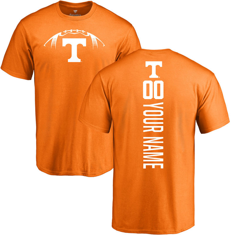 b877d852303 Tennessee Volunteers Football Personalized Backer T-Shirt - Tennessee Orange