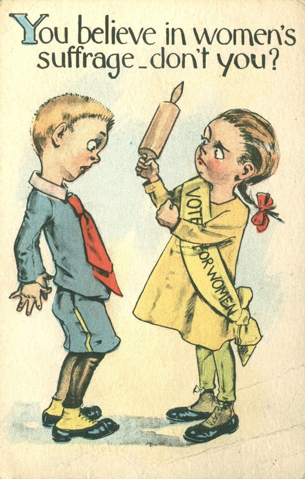 11 Vintage Images Reveal Where Negative Stereotypes About Feminists Come From Suffrage Feminist Art Suffragette