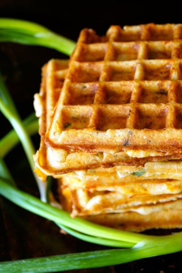Bacon-Cheddar Gluten-Free Waffles Recipe – weekend recipes