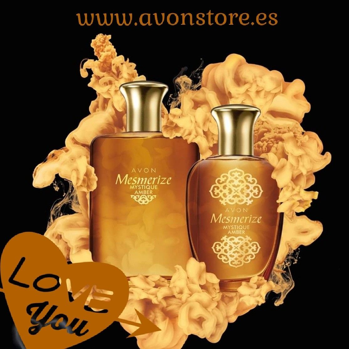 Mesmerize Mistique Amber en 2020 | Perfumes avon, Avon