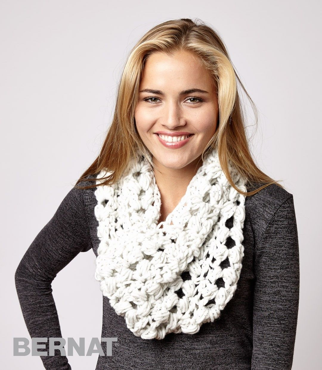 Frosted Cluster Cowl | Crochet - Scarves | Pinterest