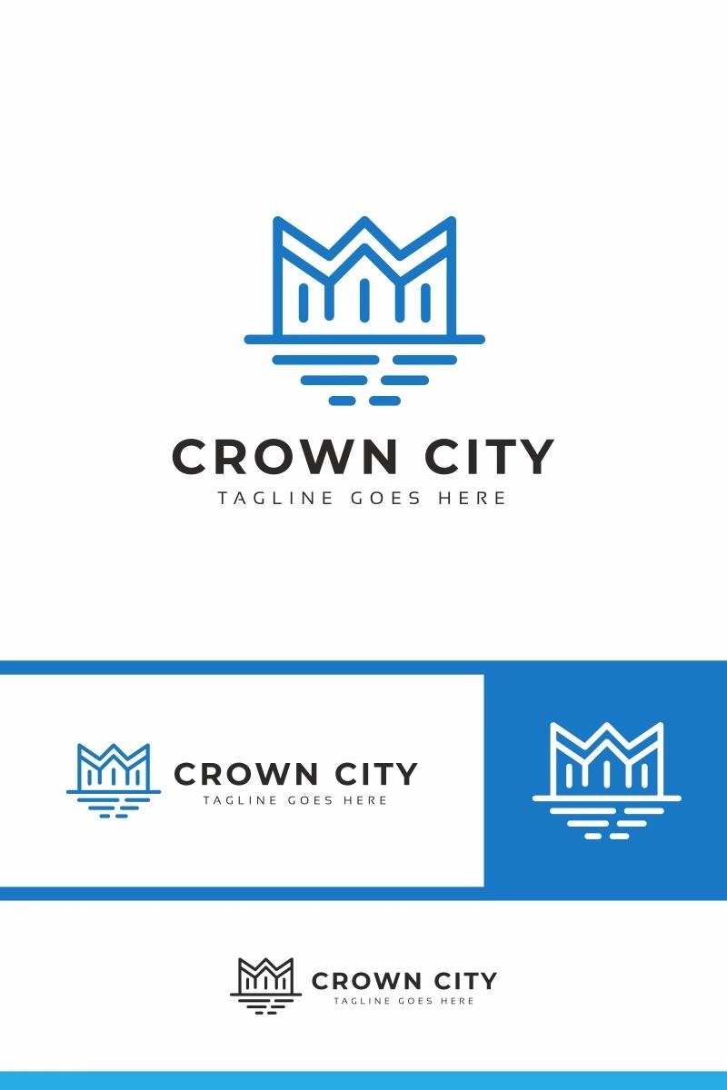 Crown City Logo Template 97337 Templatemonster Logo Templates City Logo Logos