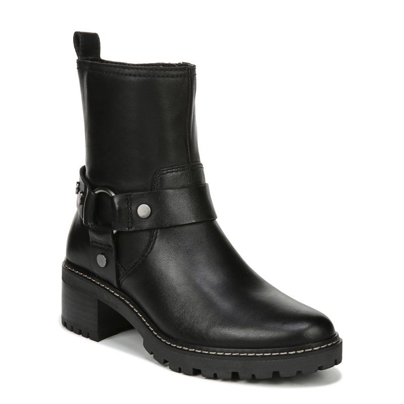 Naturalizer Tess Boots Black Leather Available In 5 0m 10 5m