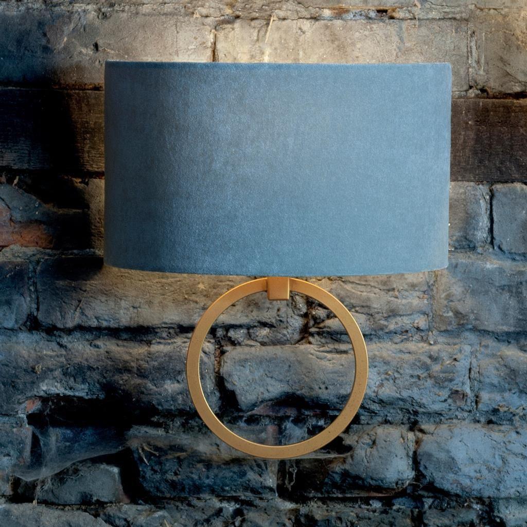 Harrington Wall Light in Old Gold Steel lighting, Steel wall