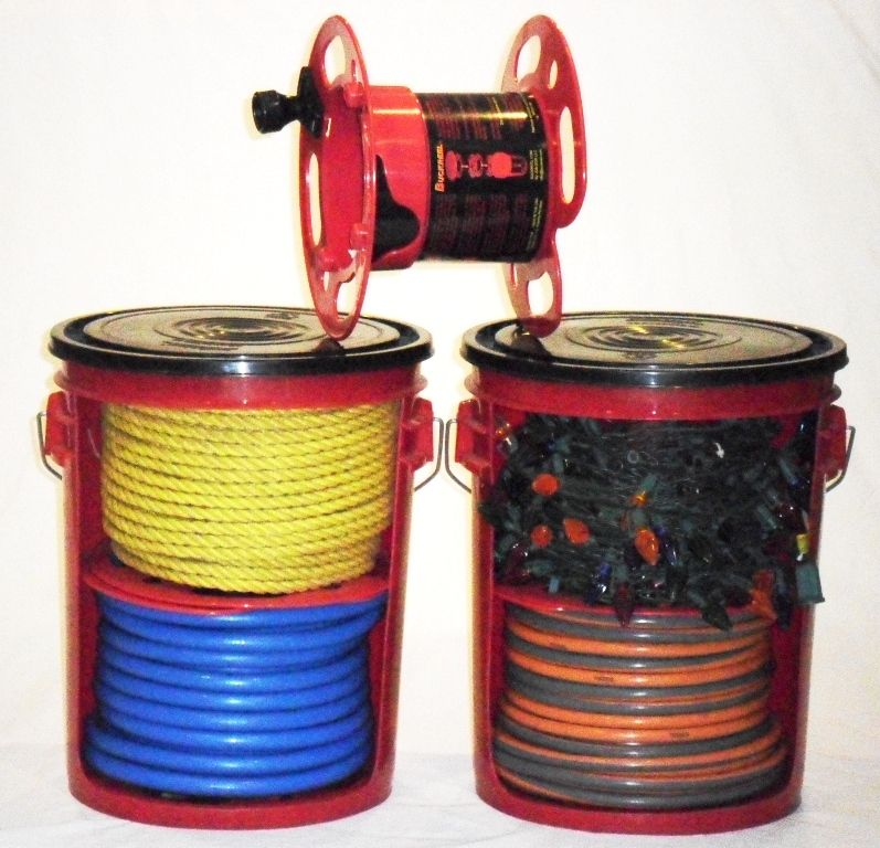 Store Cords, High Pressure Air Hose, Rope And More. Keeps