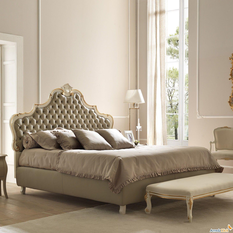 Lit Avec Tete De Lit Matelassé tête de lit - lit baroque amburgo avec tête de lit