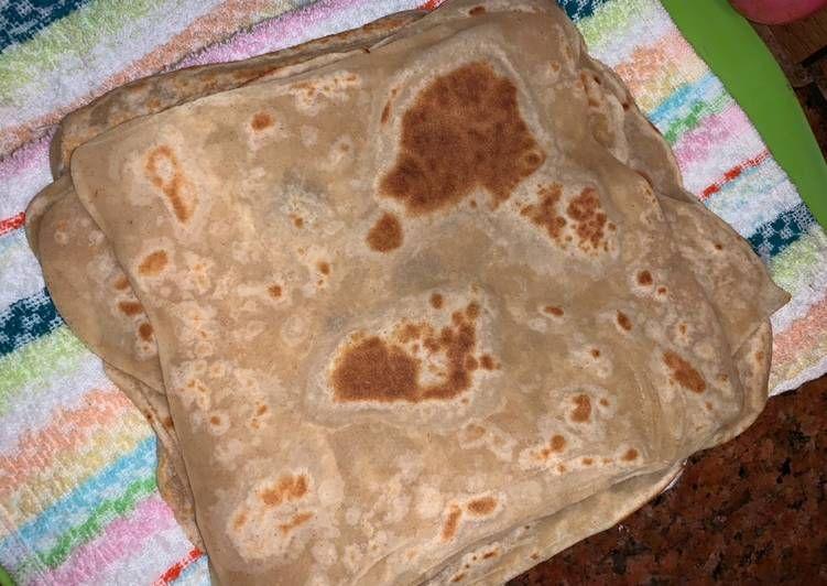 طريقة عمل خبز شباتي او جباتي Food Bread