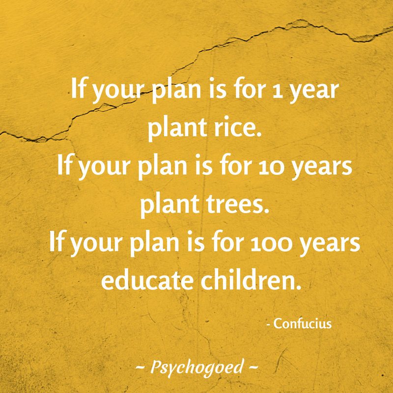 Quote Van Confucius If Your Plan Is For 1 Year Plant Rice