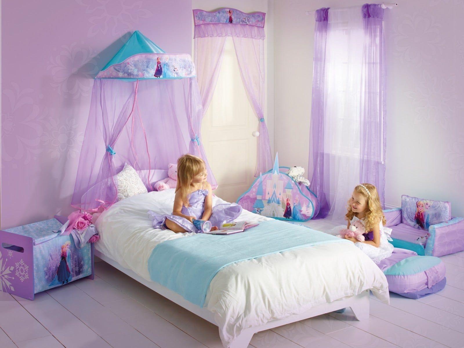 Desain Kamar Mandi Frozen Mewah  Kamar tidur anak perempuan
