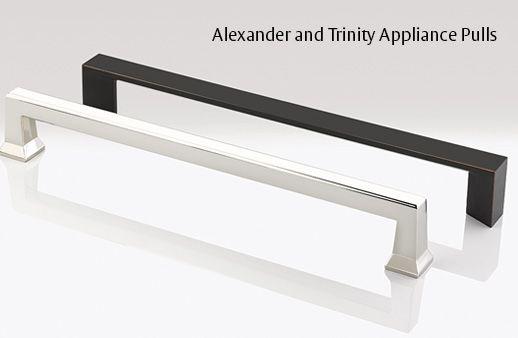 Alexander Trinity Appliance Pulls By Emtek Cabinet Hardware Trends Cabinet Hardware Modern Office Design