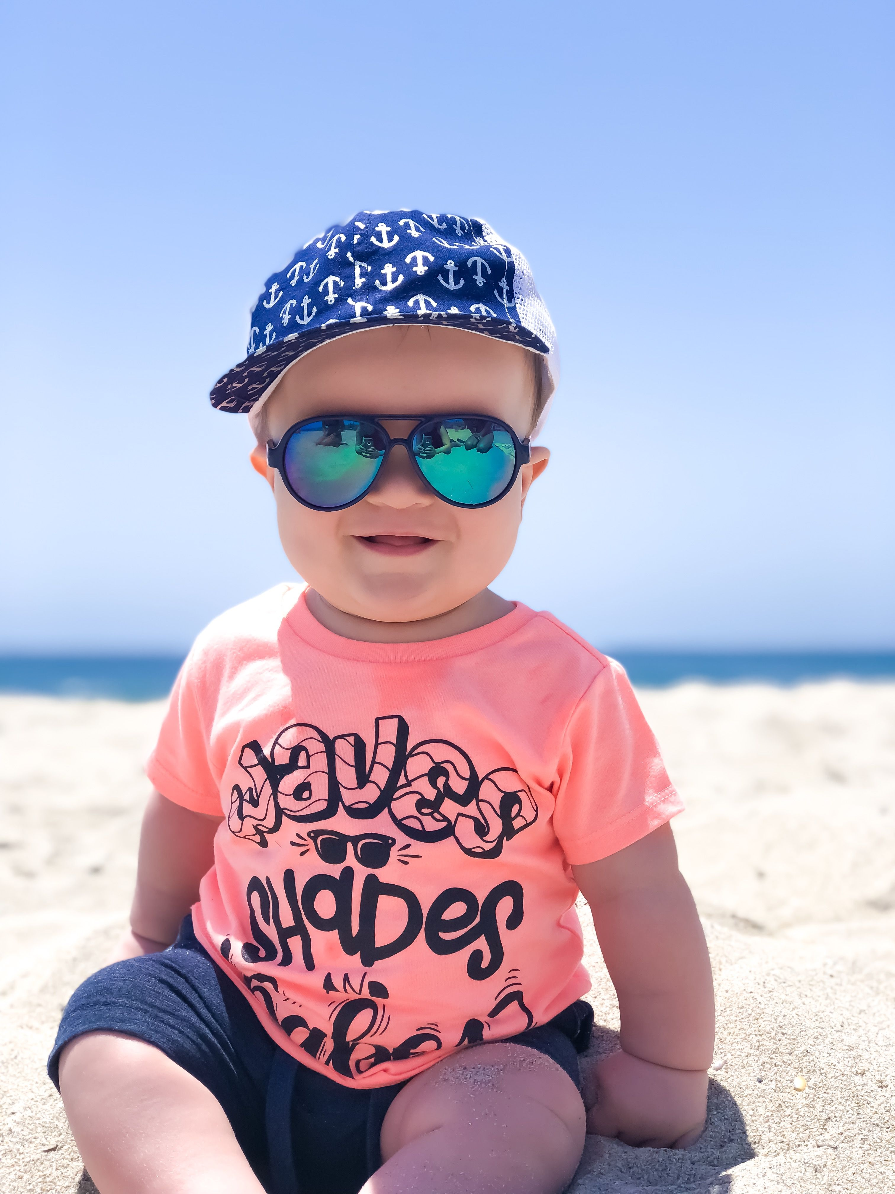 a026b3851be5 Waves shades and babes toddler summer tee