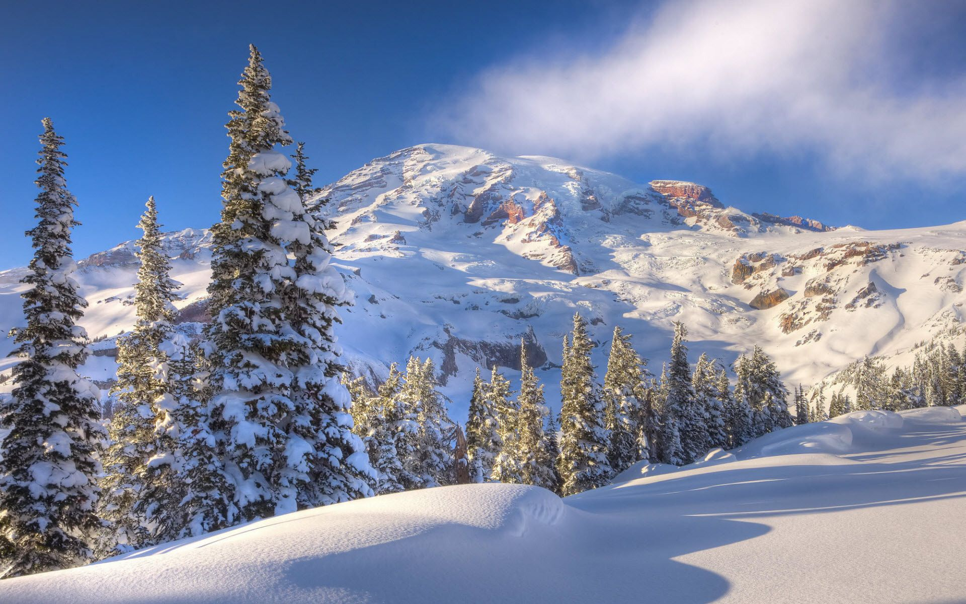 Winter Mountain Background 1519668 Winter Pictures Winter Landscape Mountain Scene