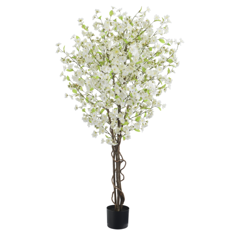 Cream Or Pink Artificial Blossom Tree Faux Flower Cherry Blossom Tree Artificial Cherry Blossom Tree Blossom Trees Cherry Blossom Tree