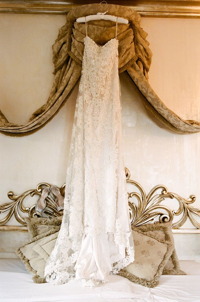 Sottero and Midgeley gown for Romantic Rome Garden wedding | Fab Mood