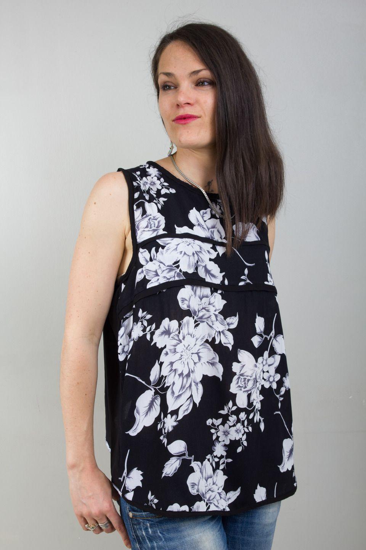 Femme Wax Haut Bleu Pour Urbain Chic Ethnique Et Sweat qTFta