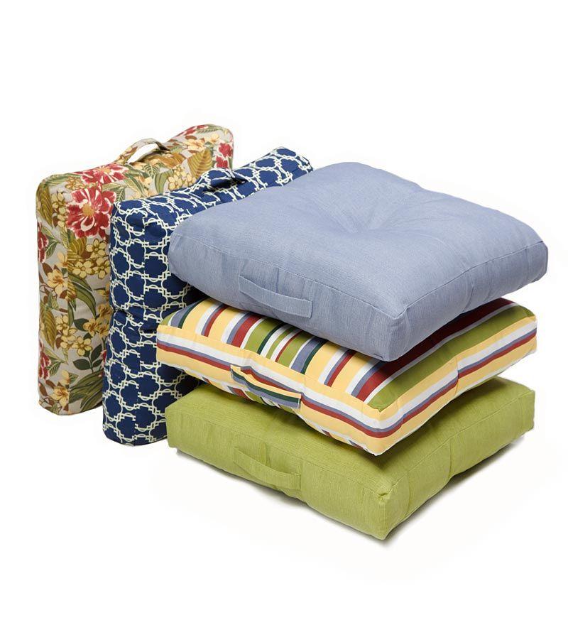 outdoor floor cushion