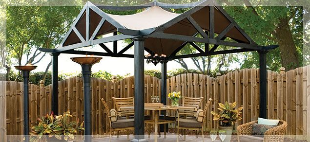 Lowe's Outdoor Pergola | Outdoor Living : Backyard Luxury - Lowe's Outdoor Pergola Outdoor Living : Backyard Luxury Outdoors
