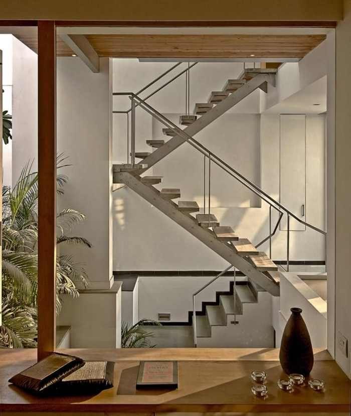 Casa B-99 Moderna y con Estilo Construcción, Naturaleza y Arquitectura - Diseo De Escaleras Interiores