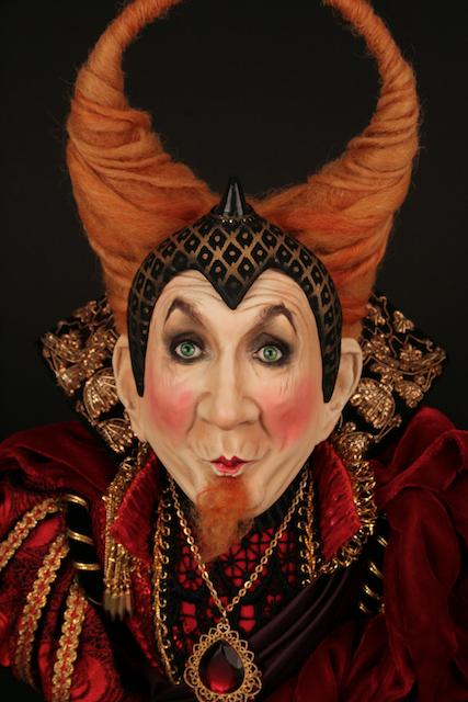 scupture of Leslie Jordan as that little devil www.dustinpoche.com